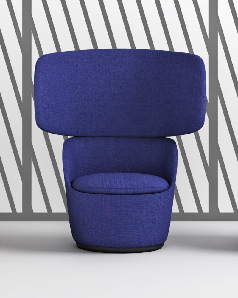 Radar Easy Chairs by Claesson Koivisto Rune for Casamania