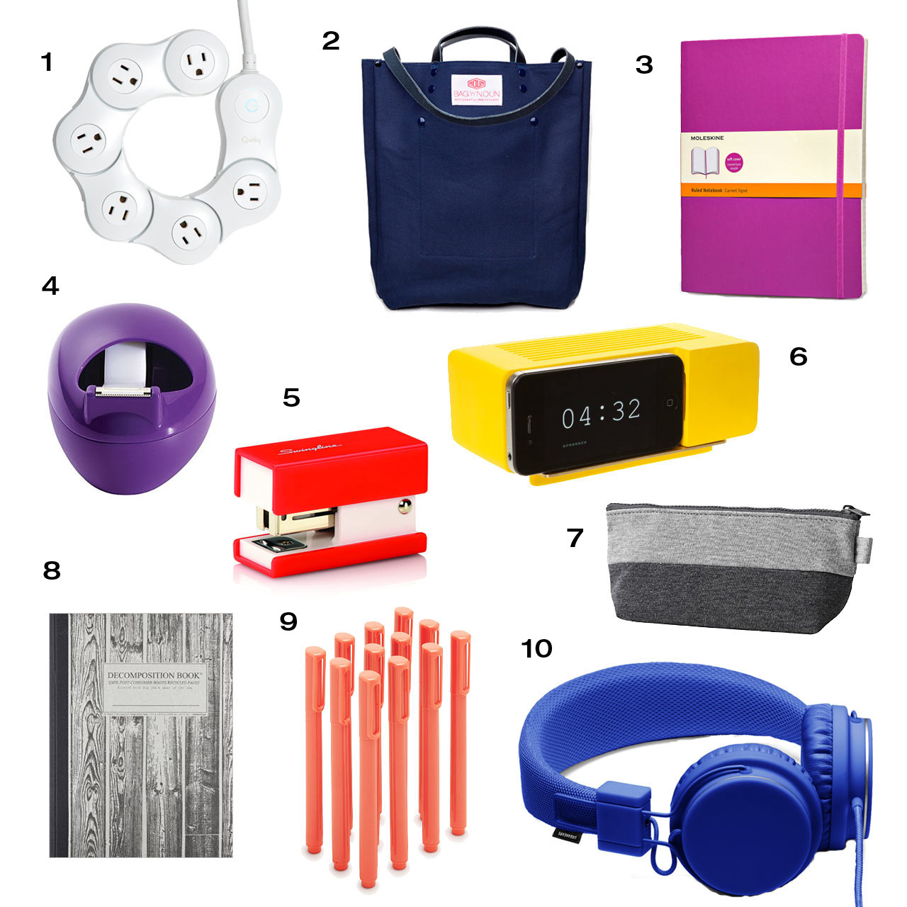 Roundup: 10 Back to School Essentials