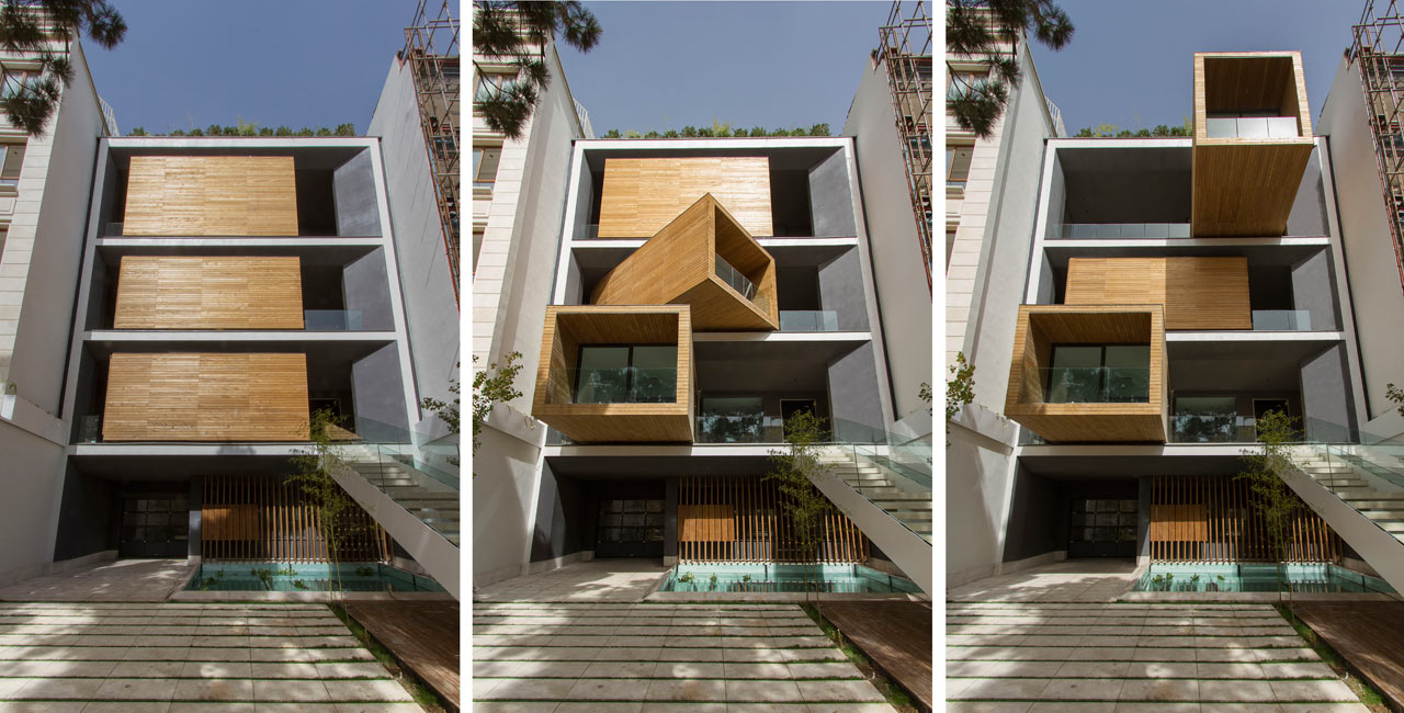 A House with Rotating Rooms