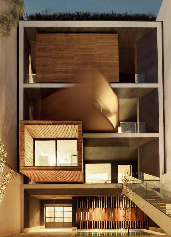 Sharifi Ha house nextoffice 1a Salar Motahari 600x834 A House with Rotating Rooms