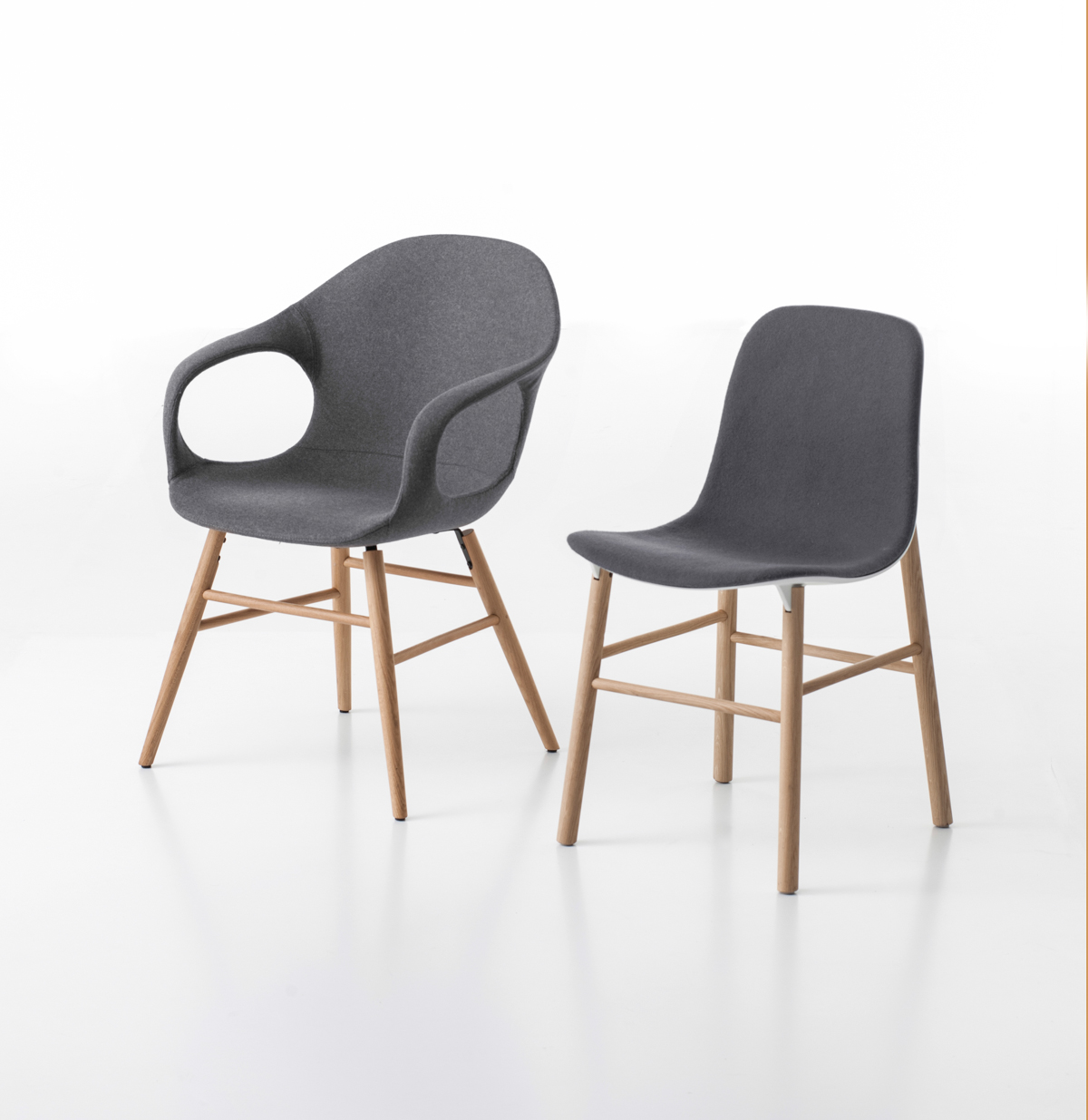 Two New Chairs from Kristalia