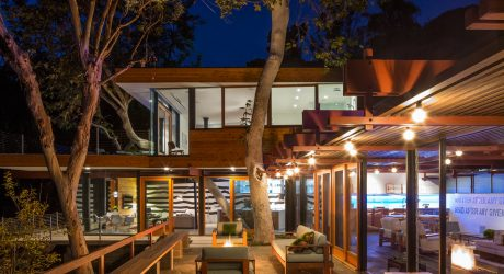 A 1950's Post & Beam Home Gets a Modern Addition