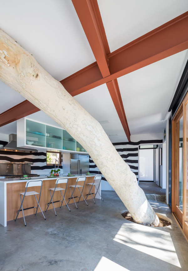 A 1950s Post & Beam Home Gets a Modern Addition in main interior design architecture Category
