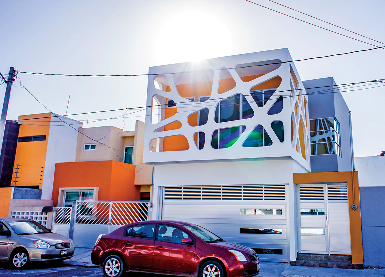 A House with a Facade that Reflects the Children's Personalities