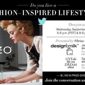 Modern Fashion Meets Modern Design: #BYBRIZO Twitter Event