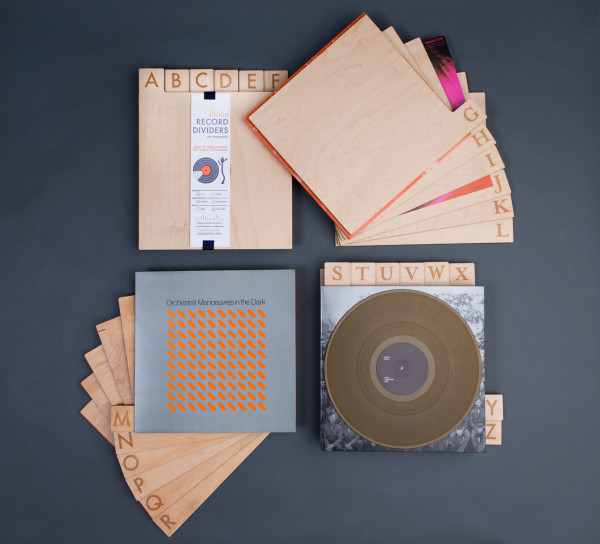Alphabetize Your Record Collection With Wood Divider Tabs Design Milk
