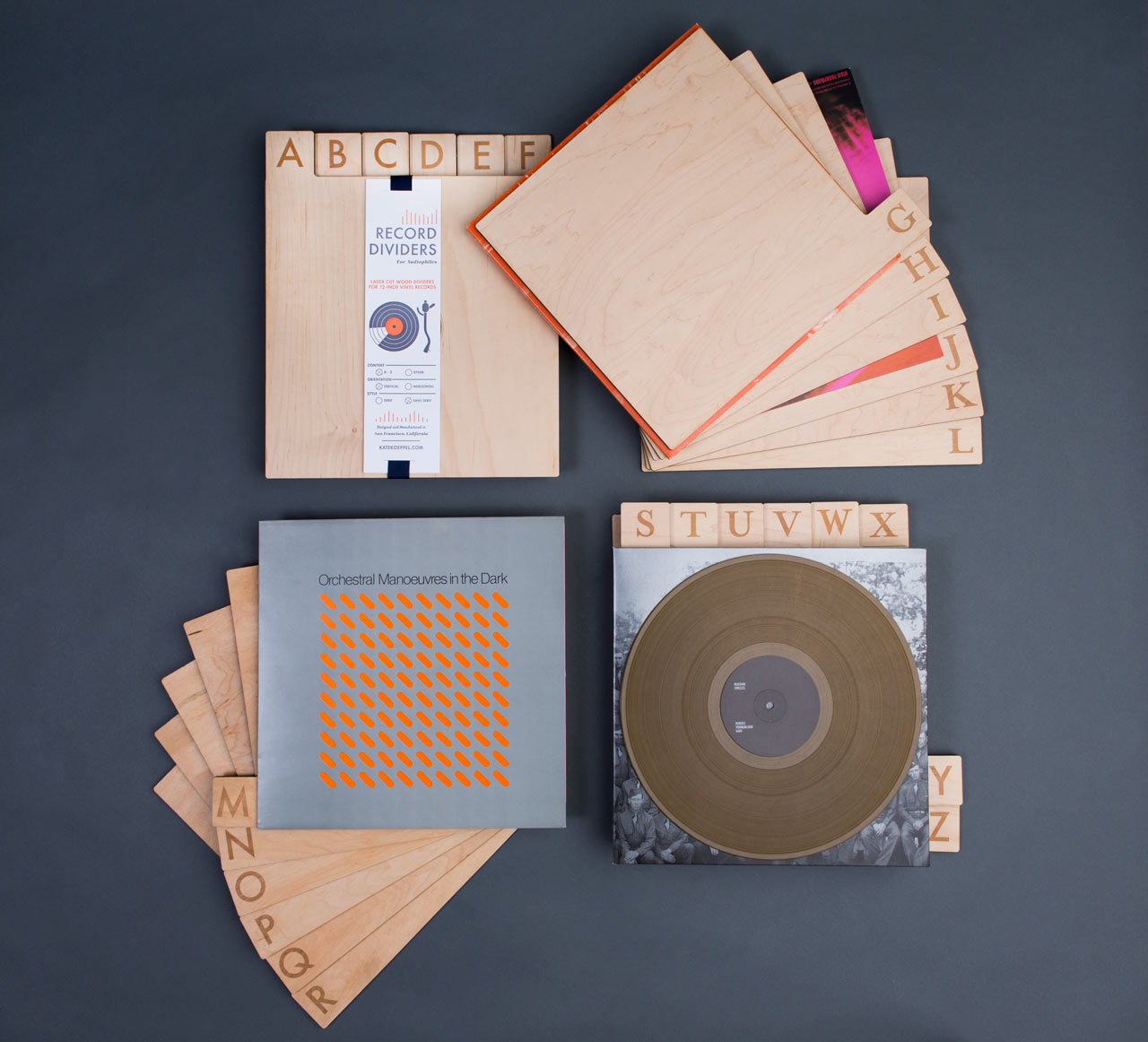 a-z-wood-record-dividers-2013-Collection