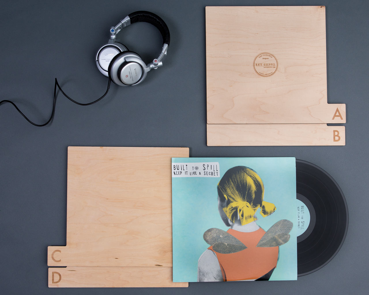 a-z-wood-record-dividers-Futura-styled