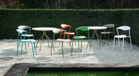 dreki Versatile Chair & Table Line for the Outdoors