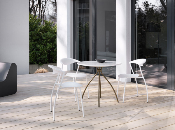 Versatile Modern Chair Amp Table Line For The Outdoors