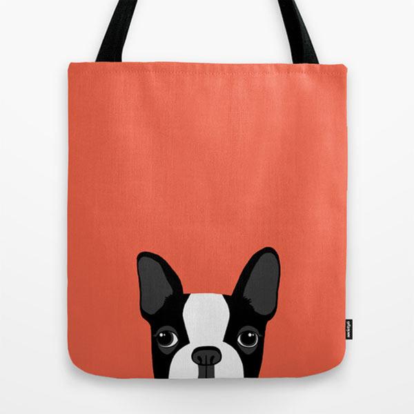 boston-terrier-tote-bag