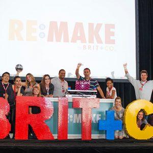 Come to Brit + Co Re:Make!