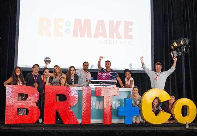 Come to Brit + Co Re:Make 2014