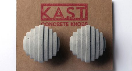 Industrial Chic: Kast Concrete Cabinet and Drawer Knobs