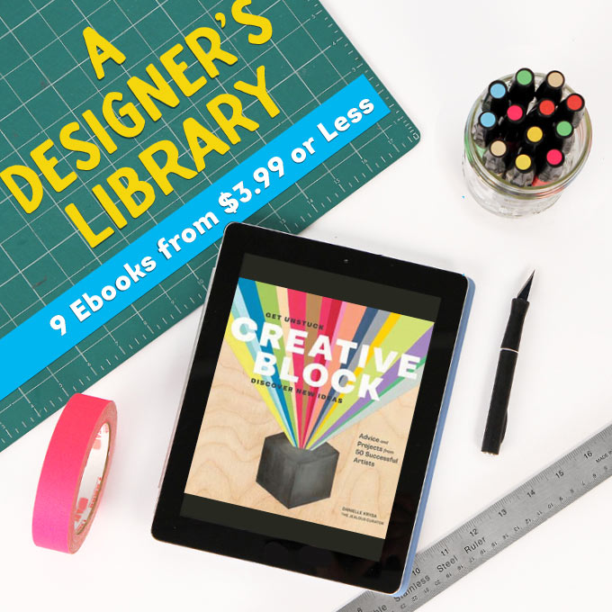 Build Your Art + Design Library: Chronicle Books eBook Sale