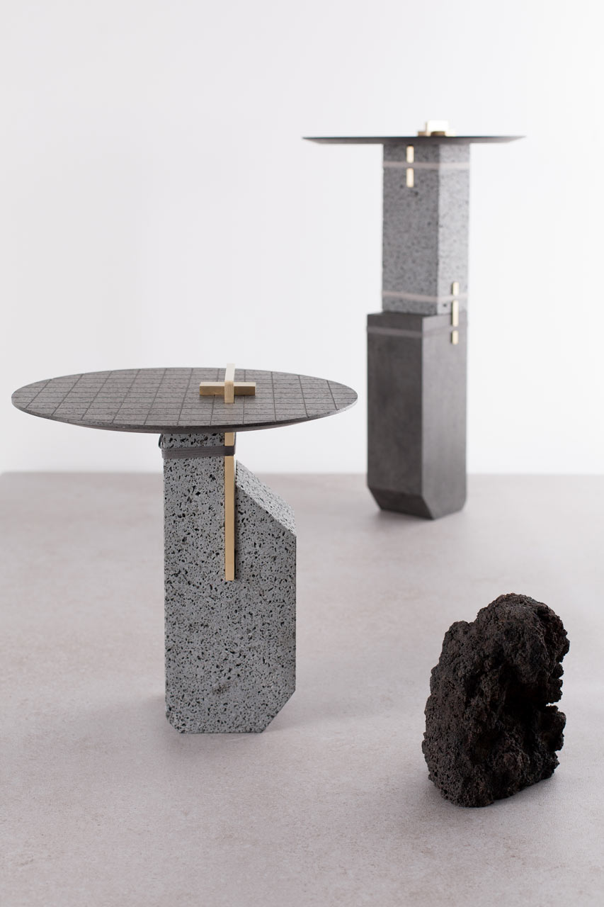 Furniture Made from Mount Etna's Cooled Lava