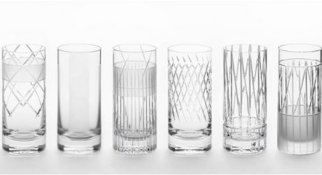 J. HILL's Standard Hand-Cut Crystal by Martino Gamper and Scholten & Baijings
