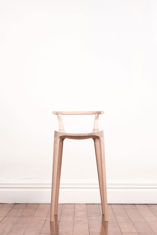 Elka Bar Stool by Oscar Pipson in main home furnishings  Category