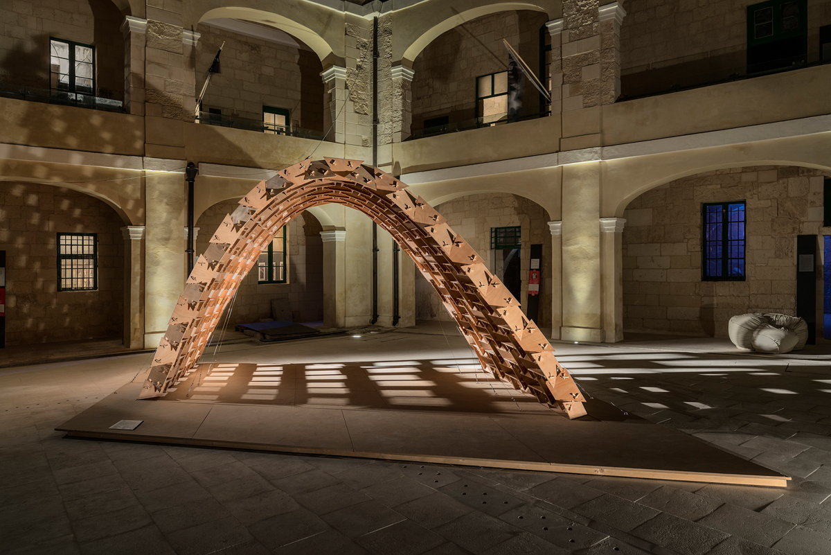 Plate Pavilion at The Malta Design Week
