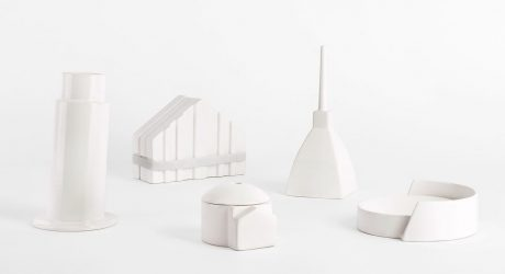 Miniature Monuments Become A Functional Desktop Landscape