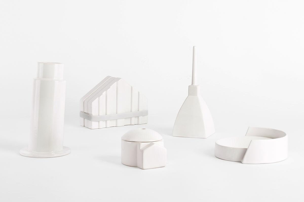 Miniature Monuments Become A Functional Desktop Landscape