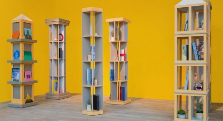 A City of Bookcases by Los Contratistas