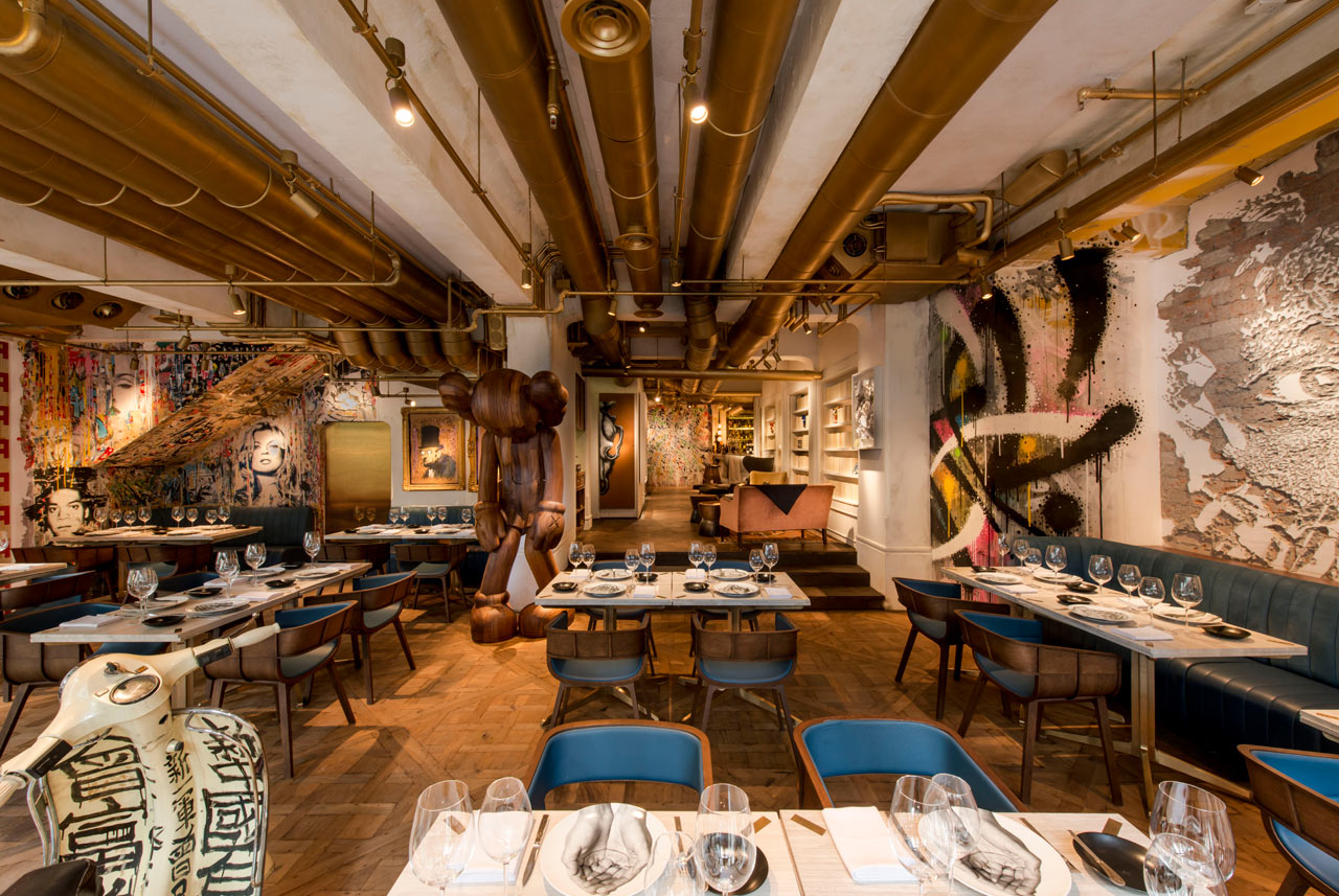 A French Fine Dining Restaurant with a Bohemian Twist