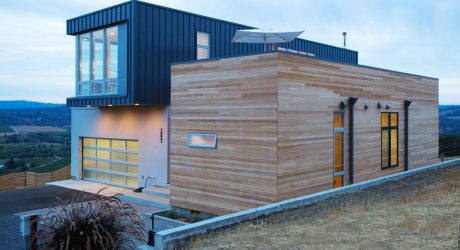 A Prefab/Modular Home in the Hills of Sonoma County