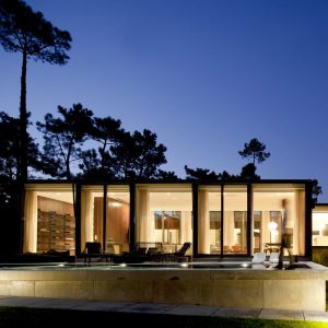 A Portuguese U-Shaped House Built with the Elements in Mind