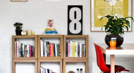 A Garage Behind a Cafe Becomes a Design Studio