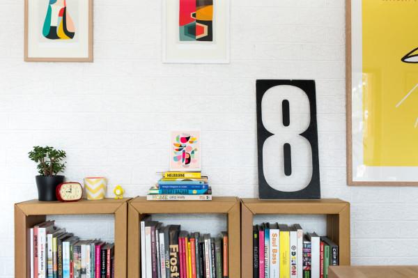 A Garage Behind a Cafe Becomes a Design Studio Design Milk