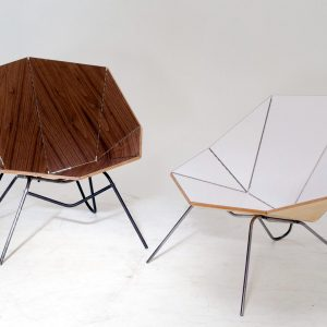 Cut & Fold: Modern, Origami-Like Furniture