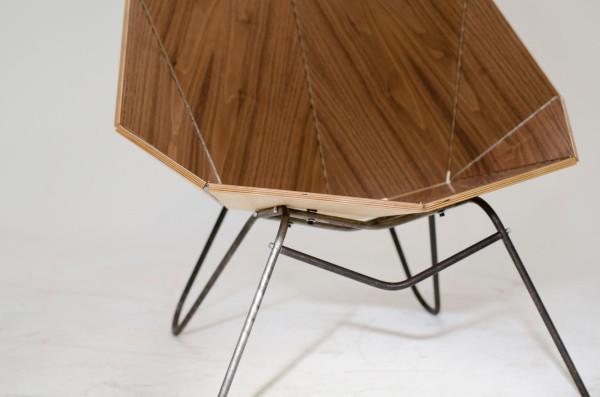yoraco gonzález distorts the common door with origami folding | 397x600