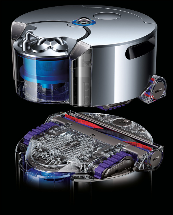 16 Years In The Making The Dyson 360 Eye Robot Vacuum