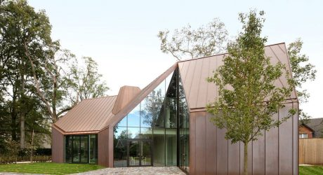 A Modern, Copper-Clad House with an Archetypal Feel