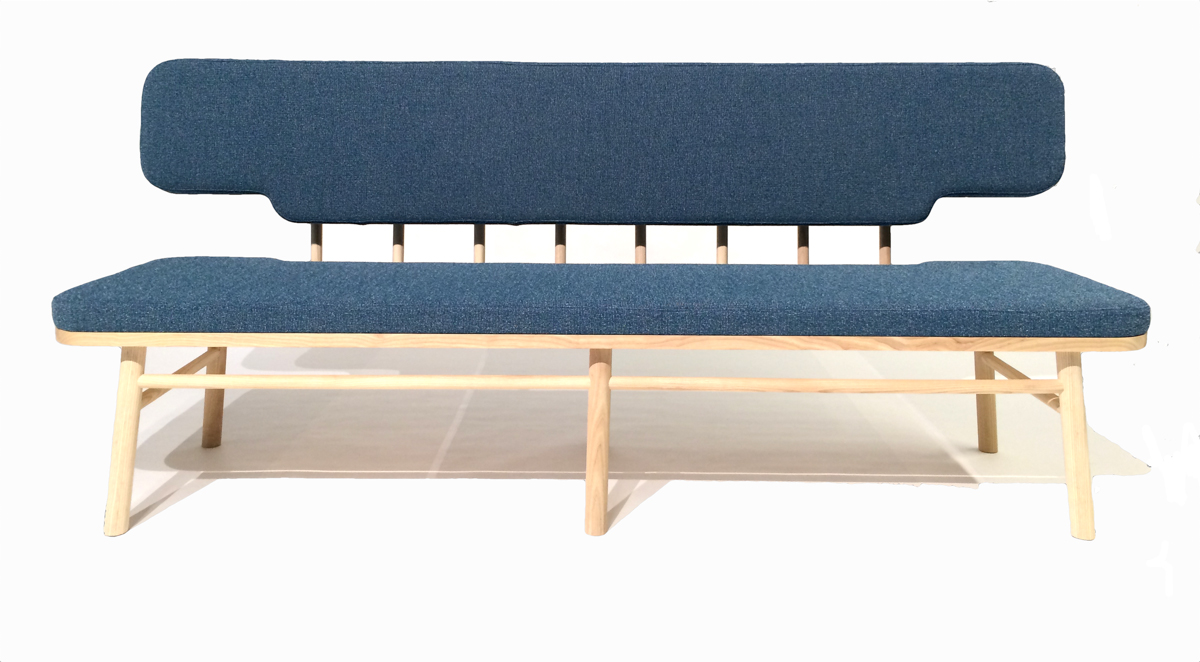 A Classic Swedish Kitchen Sofa Gets a Modern Update