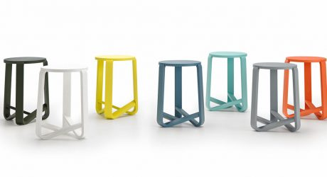 Jo: A Stool with J-Shaped Legs