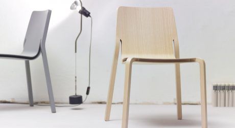 LAYER: A Stackable Plywood Chair by Oliver Schick Design