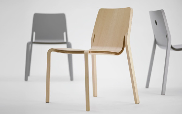 LAYER A Stackable Plywood Chair by Oliver Schick Design Design Milk