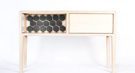 A High-End, Handmade Liquor Cabinet by Ian Rouse
