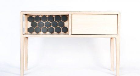 A High-End, Handmade Liquor Cabinet by Ian Rouse
