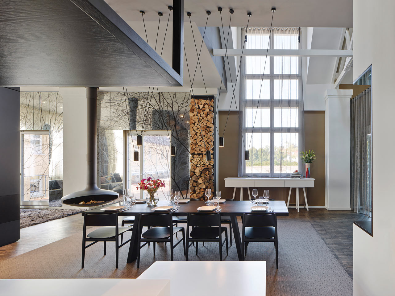 Army barracks become a loft full of perfection   design milk