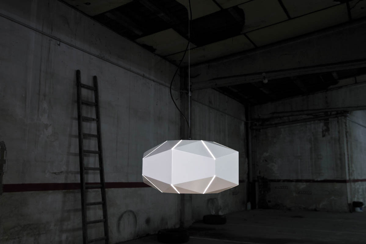 The Zebra Pendant Lamp Collection by Moloform