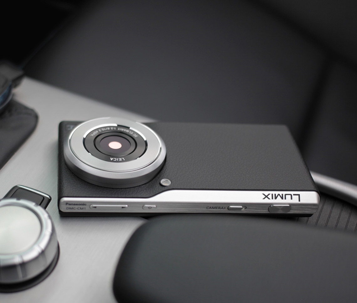 The Panasonic Lumix CM1 Blurs Line Between Camera and Smartphone