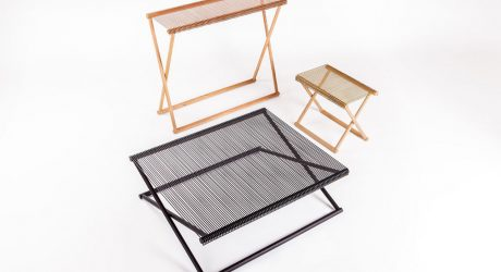 A Family of Trestle Tables by Revesz+Tatangelo