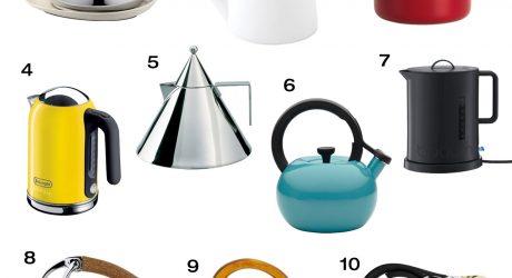10 Modern Tea Kettles & Teapots
