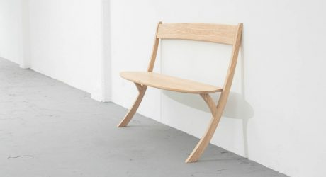 A Bench That Challenges Gravity