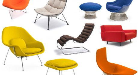 Sitting Pretty with Knoll's Modern Lounge Chairs