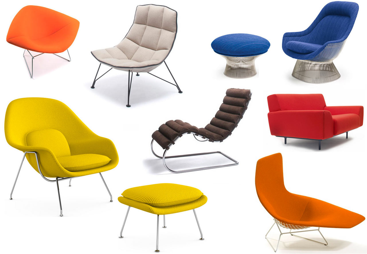 Sitting pretty with knoll s modern lounge chairs design milk for Modern design lounge chairs