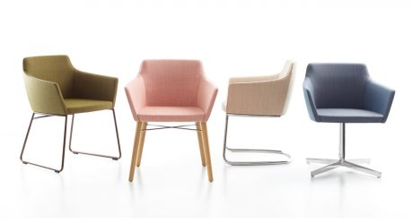 A Chair With An Adaptable Base Perfect for Office or Home